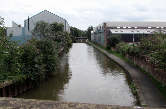 Worcester and Birmingham Canal, Worcester