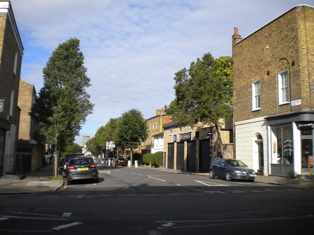 East end of Great Percy Street, Finsbury