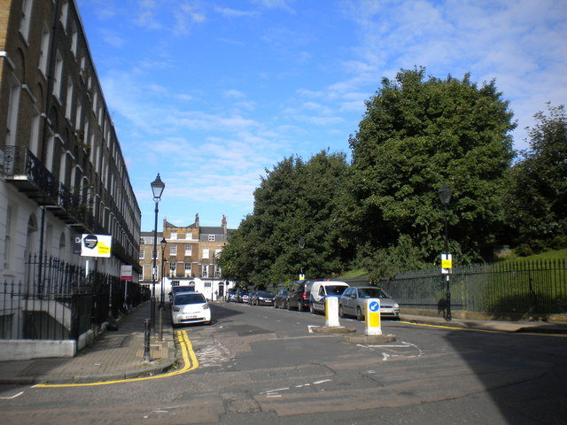 South side of Claremont Square, Finsbury