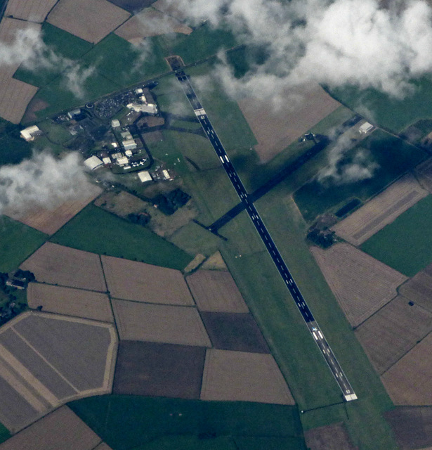 Humberside Airport from the air