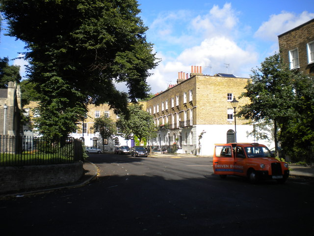 North side of Cloudesley Square, Islington
