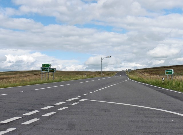Speed cameras on The A54