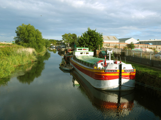 Early Evening on the River Hull near Beverley