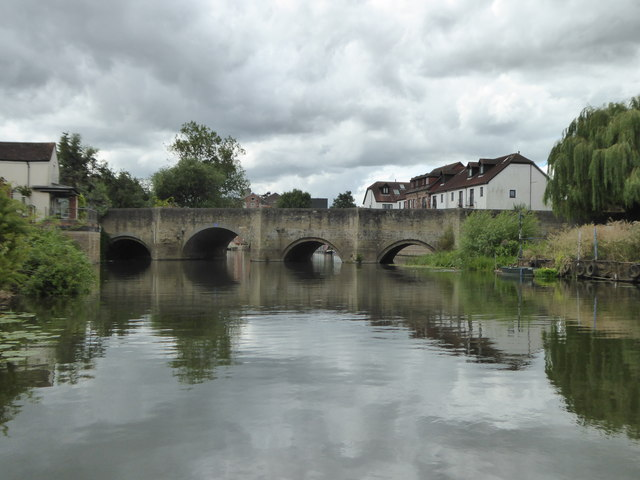 King John's Bridge over the River Avon
