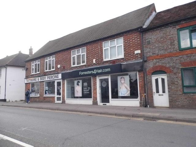 Shops on Chapel Street, Thatcham