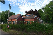 ST7693 : Pumping Station, Coombe Lane, Wotton-under-Edge by Tim Heaton