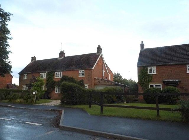 Houses on Ermin Street, Baydon