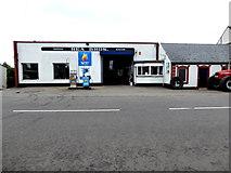 H6257 : Rea Bros. Service Station, Ballygawley by Kenneth  Allen