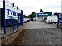 H6257 : Tyre Depot, Richmond, Ballygawley by Kenneth  Allen