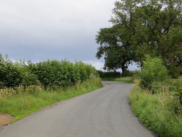 Road from Leighton to Healey