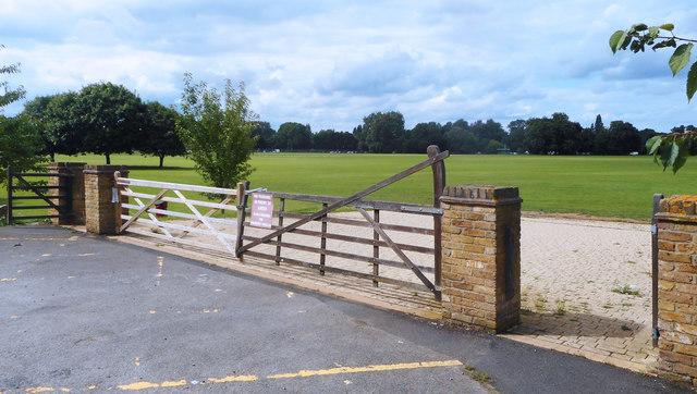 Gate into Home Park