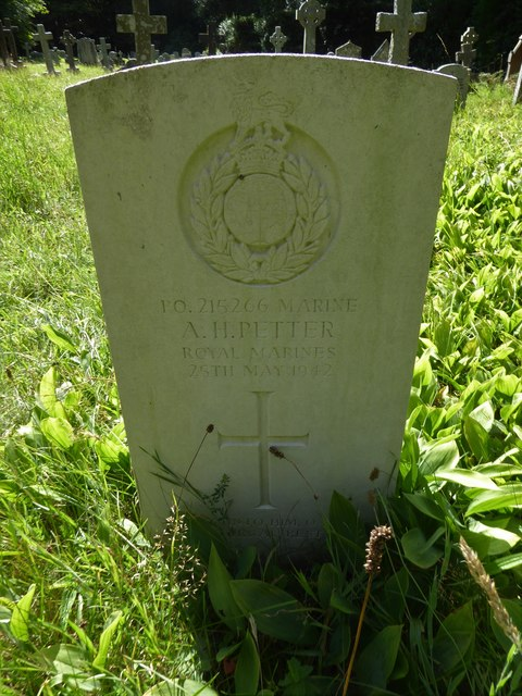 St Luke Milland: CWGC grave (b)