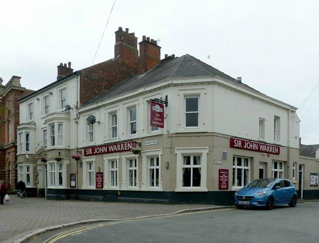 The Sir John Warren, Market Place, Ilkeston