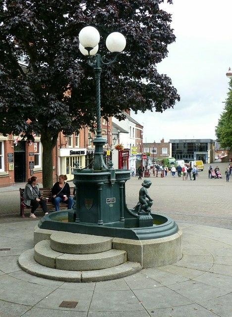 The fountain, Market Place, Ilkeston