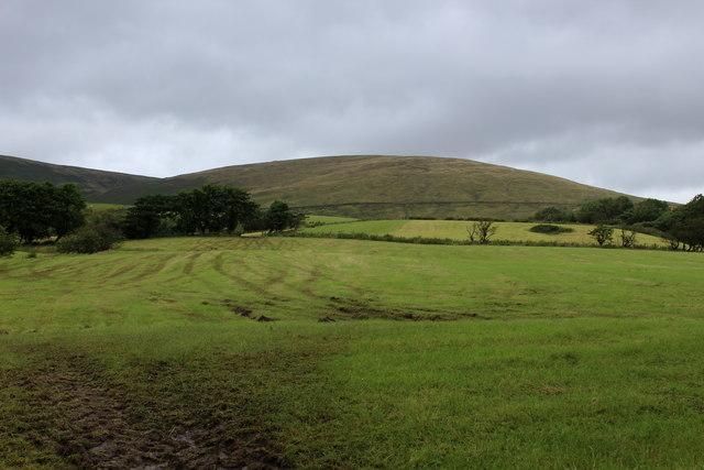 View towards Burnslack Fell