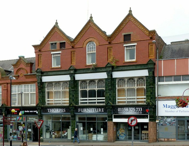 Former Co-operative store, Market Place