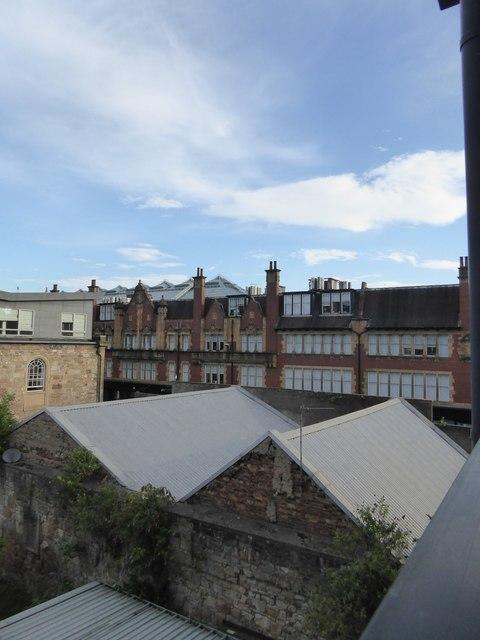 Buildings in Howard Street