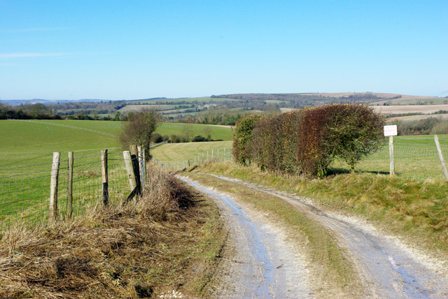 Track to Findon Park Farm