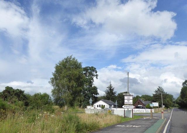 Junction for Dalrannoch