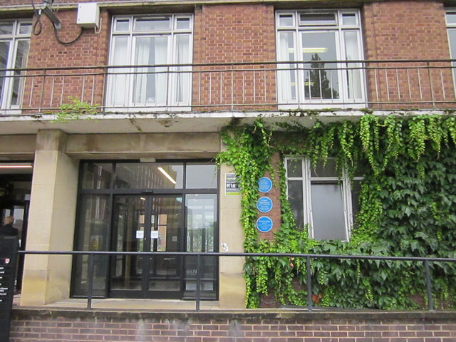 University of Birmingham Arts Building With Three Blue Plaques