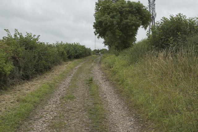 The top of Moor Lane