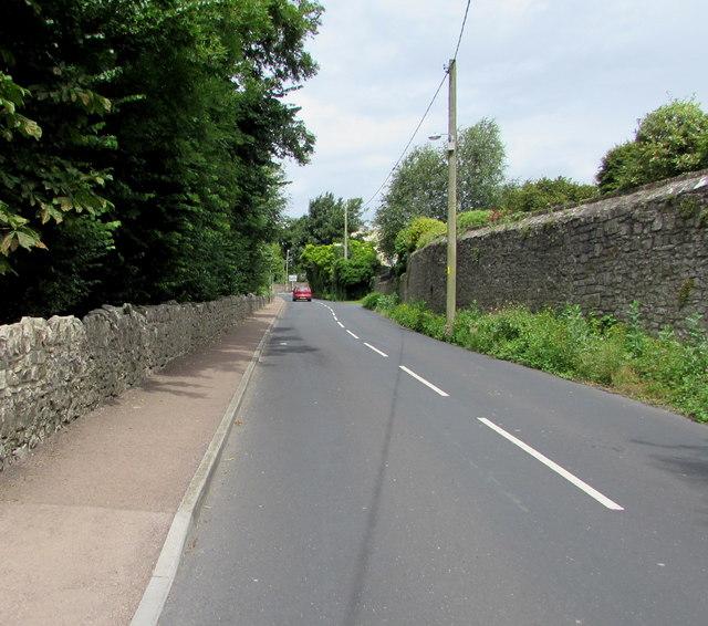Stone walls, Beachley Road, Tutshill