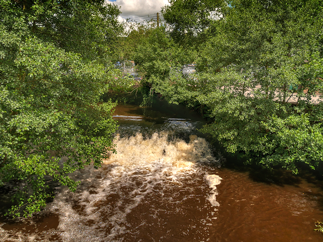 River Churnet, Weir at Froghall