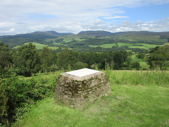 Viewpoint, Knock of Crieff car park