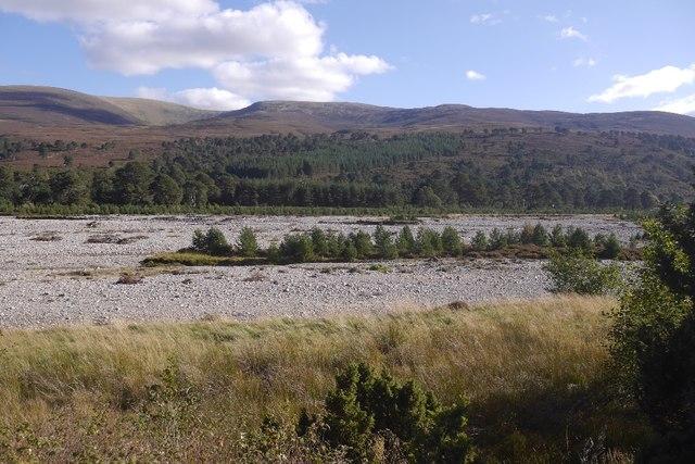 Flood bed, River Feshie