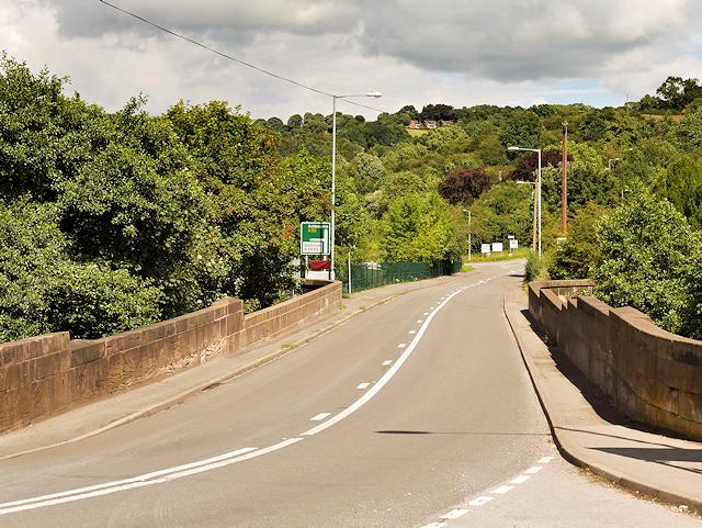 A52, Froghall Bridge