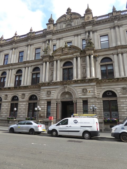 Clydesdale Bank, St Vincent Place