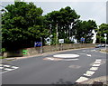ST5394 : Mini-roundabout junction in Tutshill by Jaggery