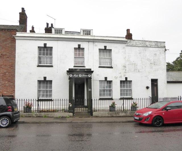 Georgian house in Queenborough High Street: Mill House