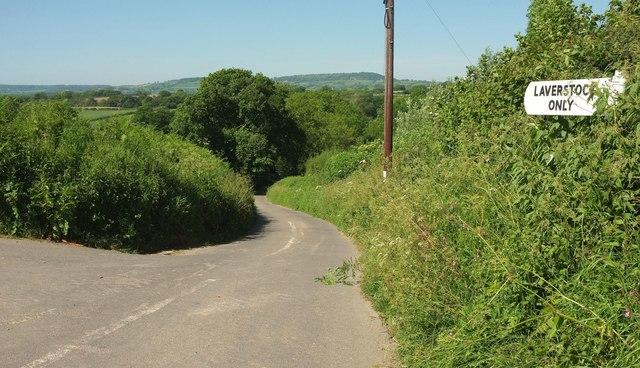 Lane to Laverstock Farm