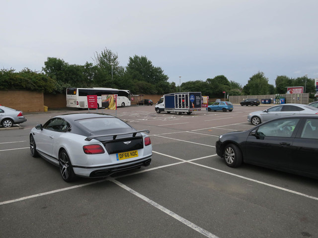 Tesco car park, Milton
