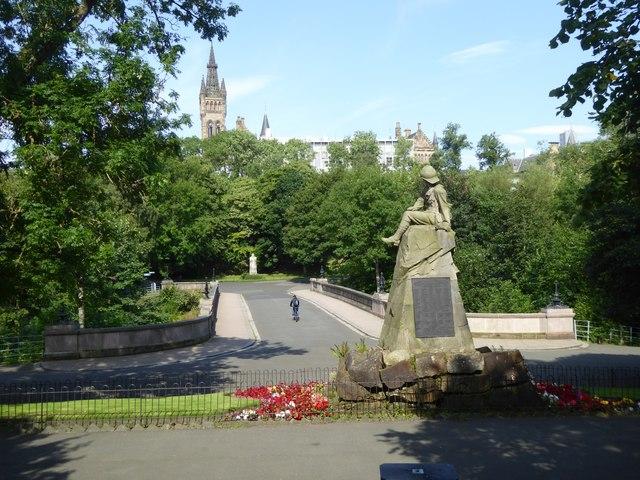 Highland Light Infantry Boer War memorial
