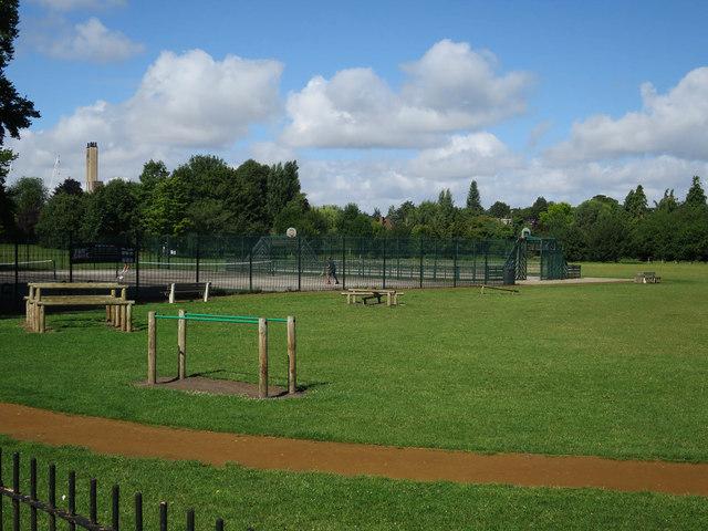 Tennis courts, Nightingale Recreation Ground