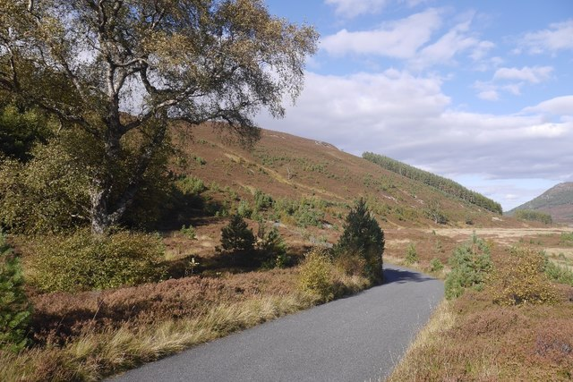 West  Glen Feshie road