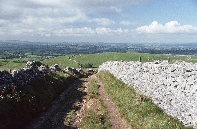 Fell Lane above Ingleton