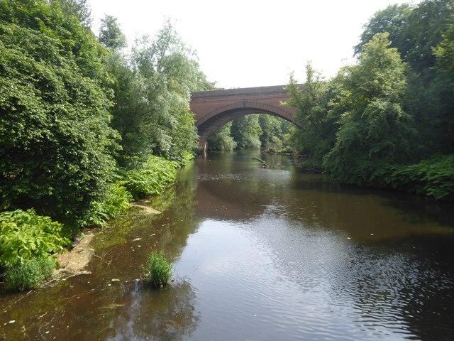 River Kelvin and Queen Margaret Bridge