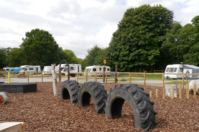 Play area, Beauly Holiday Park