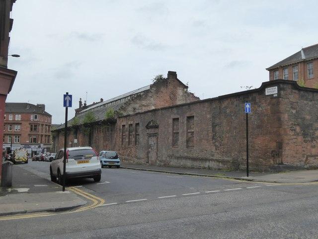 Derelict building, Torness Street