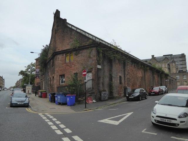 Former school swimming baths, Torness Street