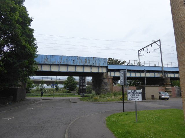 Railway bridge over Ferry Road