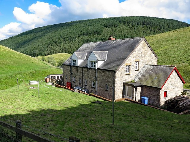 Blindburn Cottages from the rear