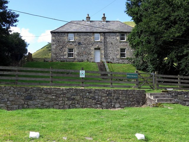 Blindburn farmhouse