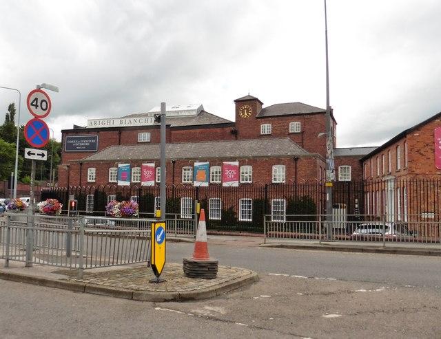 Furniture showroom, Macclesfield