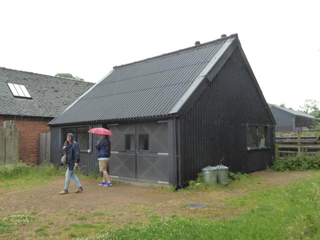 Calke Abbey - biomass boiler house