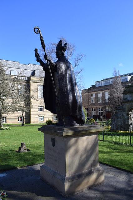 Wardlaw statue, St Andrews