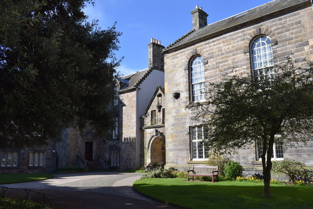 Entrance to St Mary's Quad, St Andrews